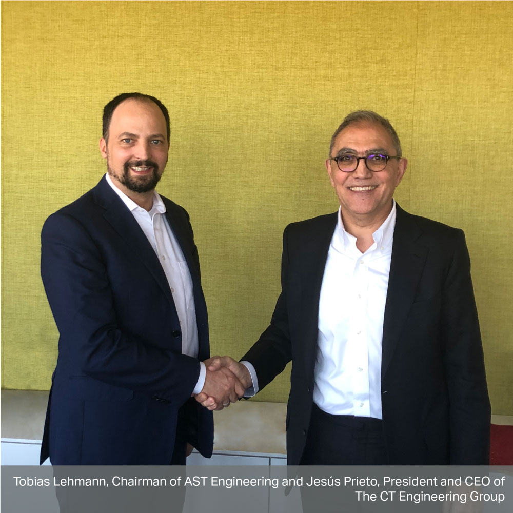 CT strengthens its presence in Germany with the acquisition of AST, a Software and Systems Engineering company.