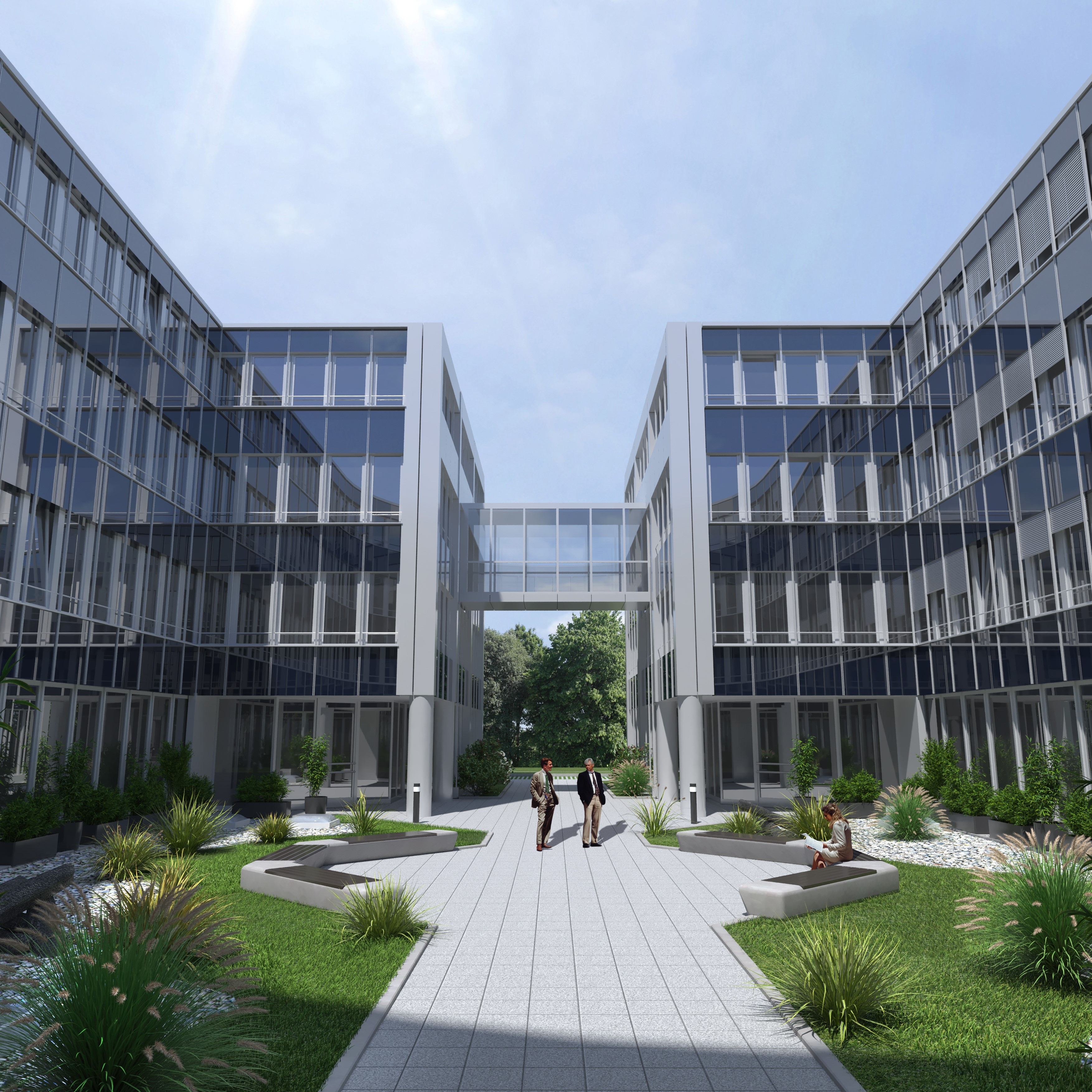 CT Group moves to its new Munich headquarters in the Hatrium office complex in Unterhaching.